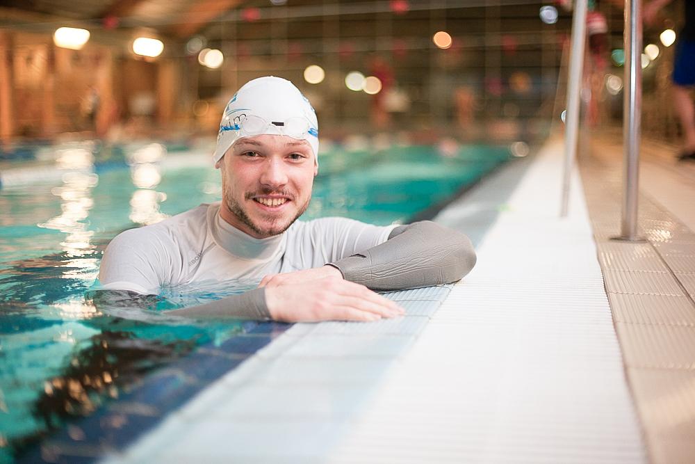 Daniel - instruktor pływania w Smile-Swim