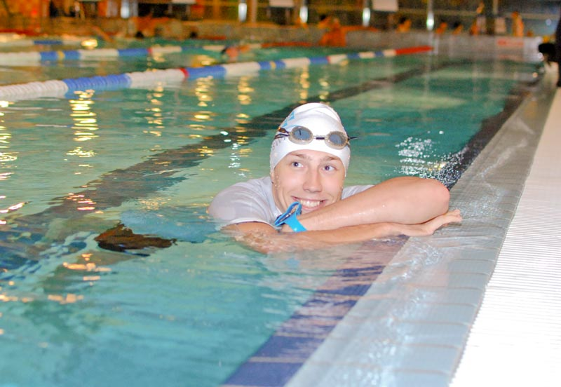 Instruktor pływania Filip Dyakowski