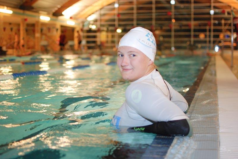 Instruktor pływania Marta Krzyczkowska