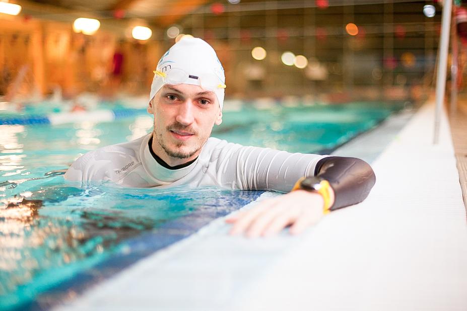 Marcin - instruktor pływania w Smile-Swim