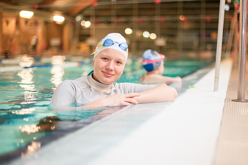 Paulina - instruktor pływania w Smile-Swim