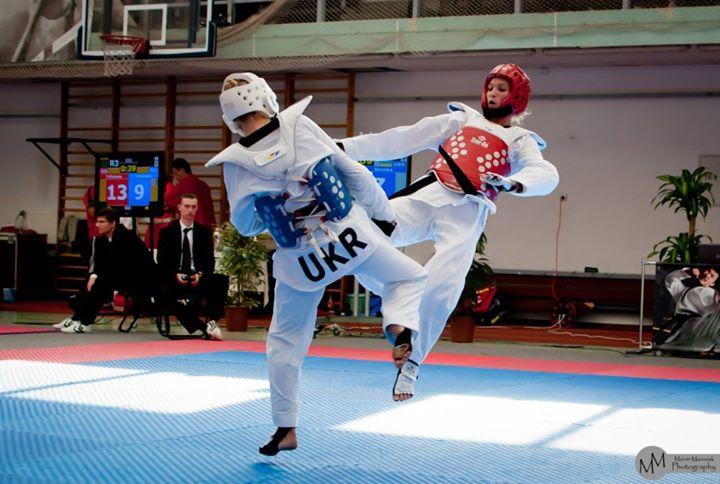 Taekwondo na obozie sportowym Smile-Swim