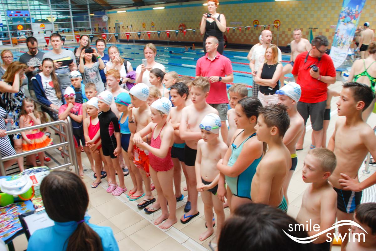 Wielkie zawody pływackie Smile-Swim
