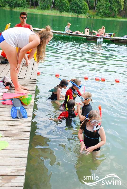 Podstawy nurkowania - obóz pływacki