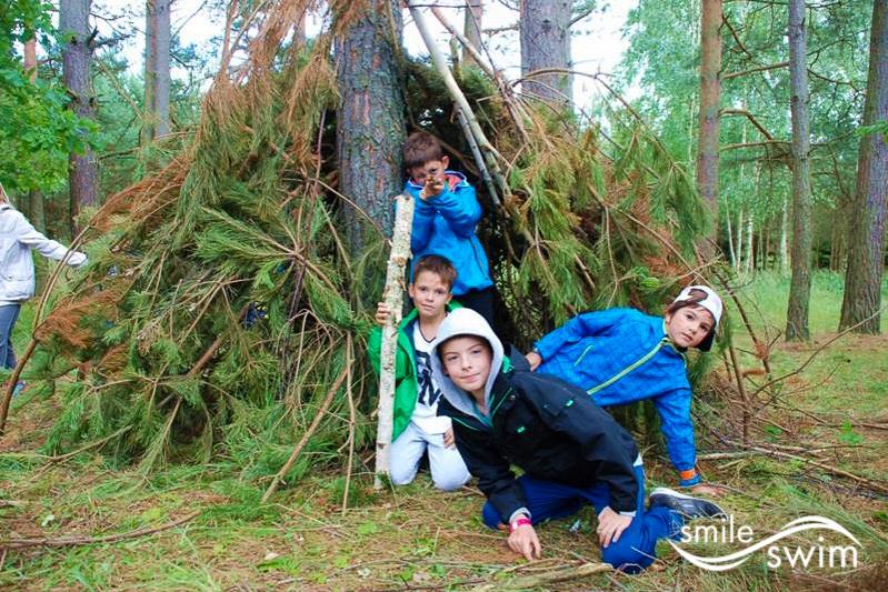 Szałas - obóz sportowy 2015