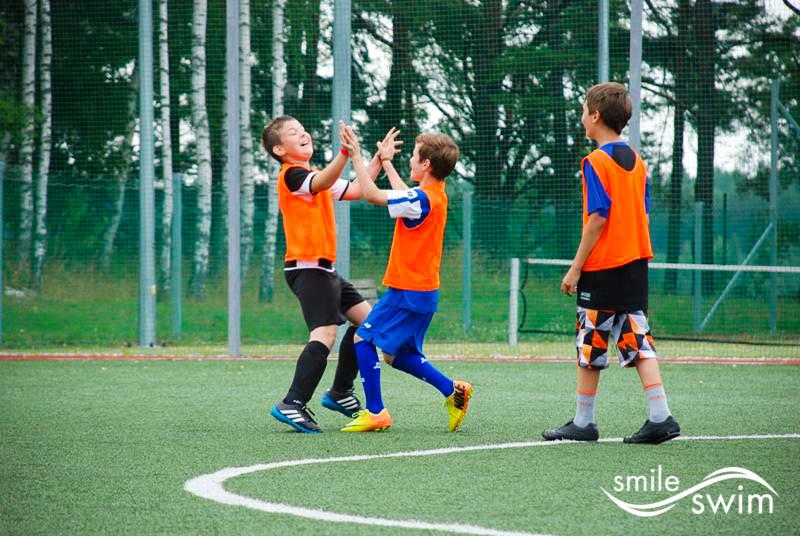 Obóz piłkarski - wygrany mecz