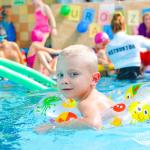 Extra zabawa na basenie - urodziny
