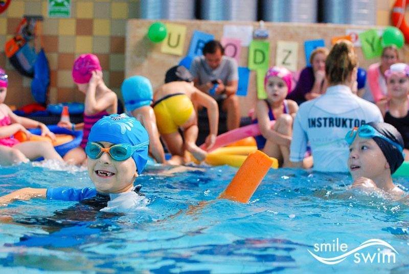 Super zabawa na basenie - urodziny