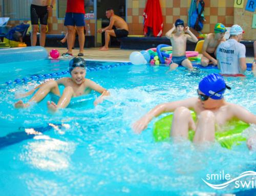 Urodziny na basenie – Janek i koledzy