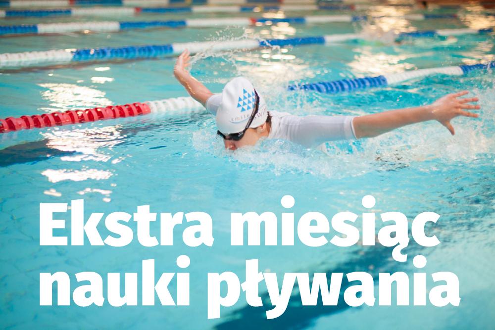 Ekstra miesiąc pływania!
