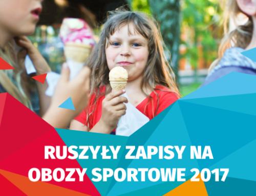 Nowy terminarz obozów sportowych 2017!