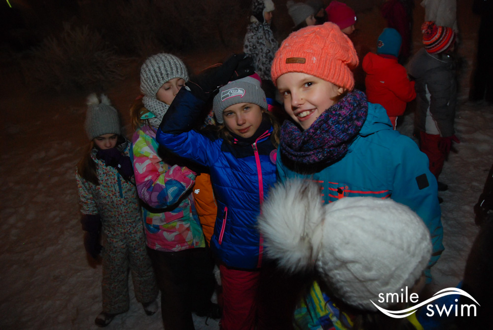 Śnieżne zabawy - obóz zimowy
