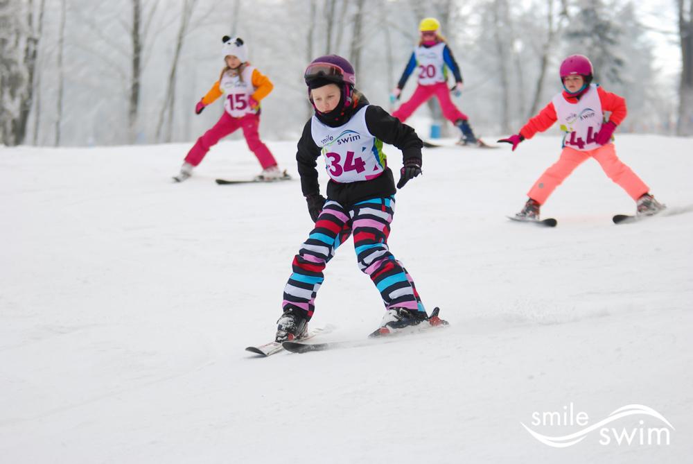 Ferie zimowe - nauka jazdy na nartach