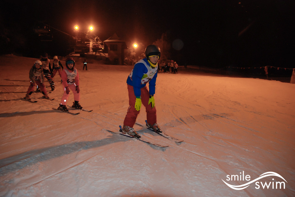 Jeździmy na nartach! Nocne zjazdy