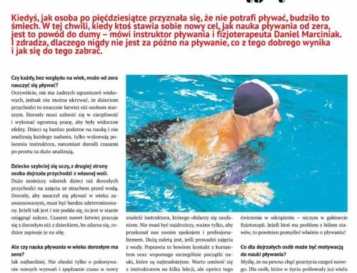 Wywiad: pływanie a rehabilitacja
