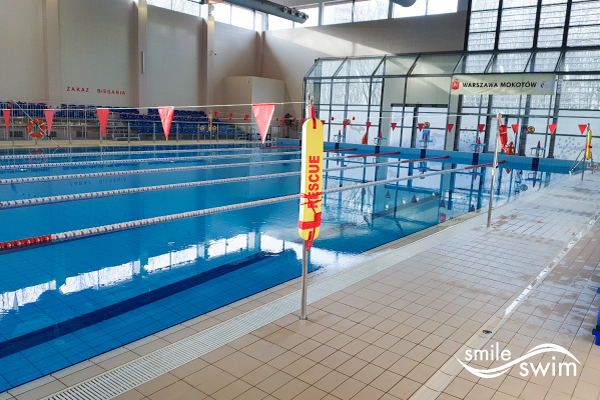 Basen OSiR Mokotów Niegocińska - duży basen