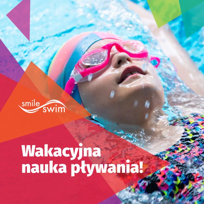 Wakacyjna nauka pływania