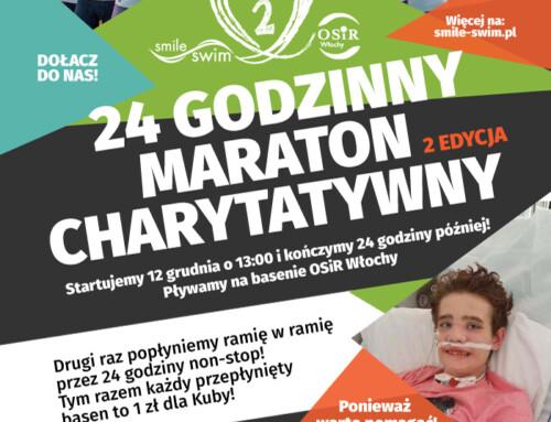 Charytatywny maraton pływacki – 2 Edycja