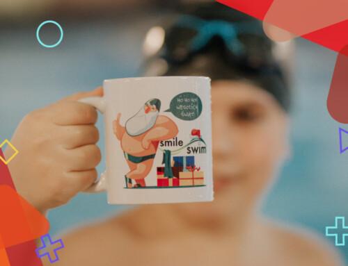 Świąteczno-pływackie kubki dla naszych pływaków – Mikołajki